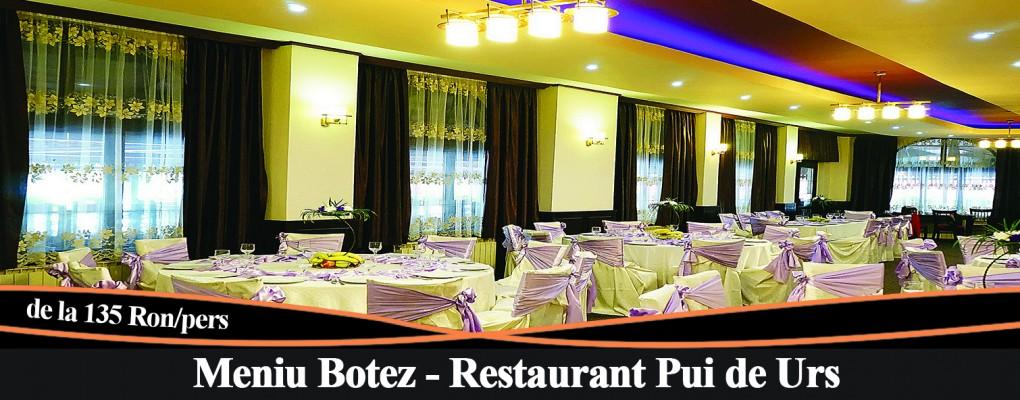 Meniu Botez Restaurant Pui de Urs
